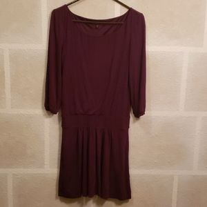 Express Purple Slinky Dress